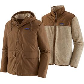 Patagonia Isthmus 3 in 1 Jacket Men owl brown